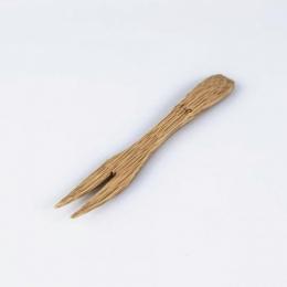 Tenedor bambú formato mini serie NIPÓN degustación aperitivos eventos y fiestas