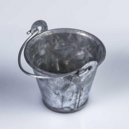 Mini BALDE cubo pequeño de metal presentación alimentos eventos y fiestas catering y hostelería