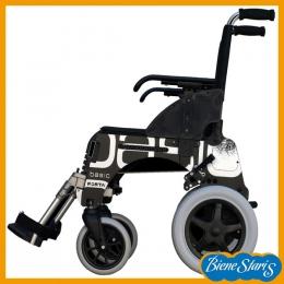 silla de ruedas estrecha para traslado, transferencias y pasos estrechos