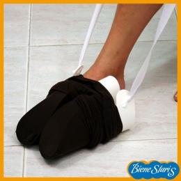 calzador de medias, ponemedias, compresión, pone medias,  ayuda, medias, pantys, pantis