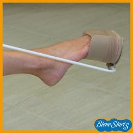 calzador de calcetines, calzador de medias,  compresión, pone medias, pone calcetines,  ayuda,