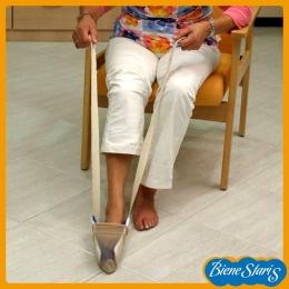calzador de medias, compresión, pone medias, pone calcetines