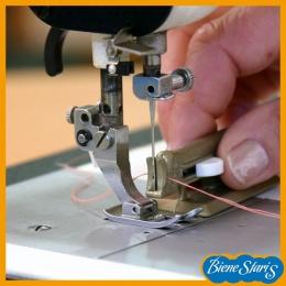 Enhebrador de agujas de máquina de coser