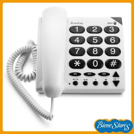 Teléfono de teclas grandes para personas mayores