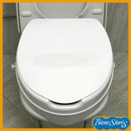 asiento de inodoro, elevador inodoro, elevador wc, elevador, inodoro de baño, alza inodoro, con tapa