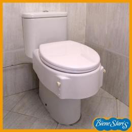 asiento de inodoro, elevador inodoro, elevador wc,  elevador, inodoro de baño, alza inodoro, regulable