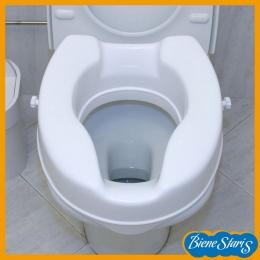 asiento de inodoro, elevador wc, alza para baño