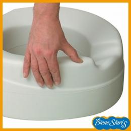 asiento de inodoro, elevador wc, alza para baño blando
