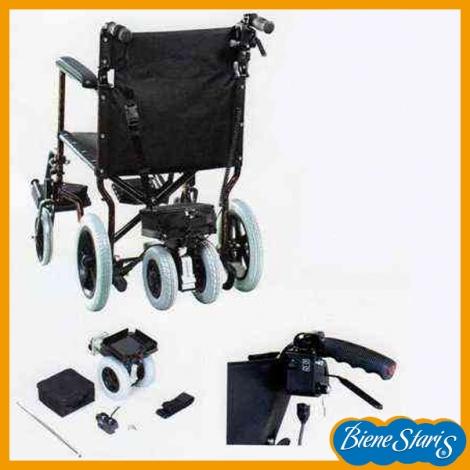 Silla de ruedas con motor auxiliar en promoci n bienestaris - Motor silla de ruedas ...
