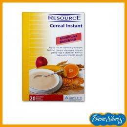 papilla de cereales y frutas