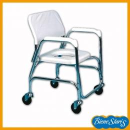 silla de ruedas para ducha e inodoro económica