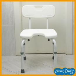 silla de baño y ducha herradura plegable