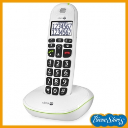 Teléfono inalámbrico para personas mayores para sordos