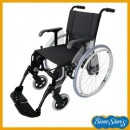 silla de ruedas ligera y estrecha para calle