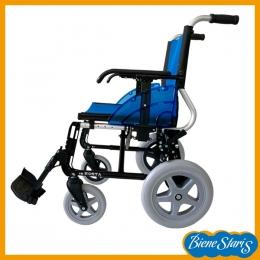 silla de ruedas ligera para traslado y transferencias