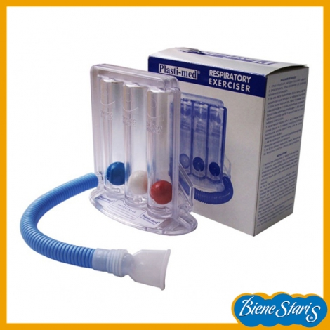 aparato para hacer ejercicios respiratorio