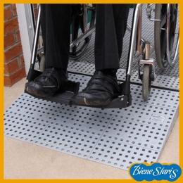 rampa portátil para silla de ruedas