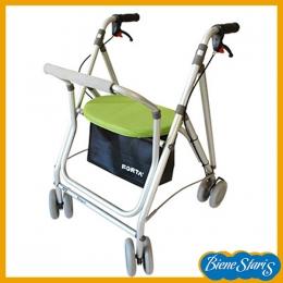 Andador para adultos Kanguro con frenos, asiento y respaldo