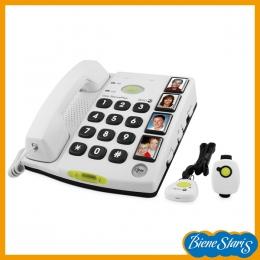 teléfono teclas grandes con teleasistencia