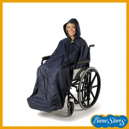 capa impermeable para silla de ruedas