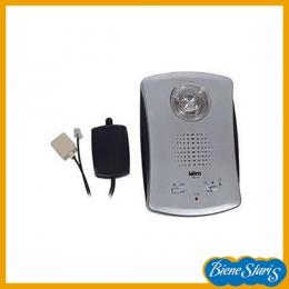 Amplificador del timbre del teléfono con luz
