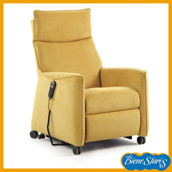 Sillon relax puesta en pie con ruedas ortopedia salud for Sillon relax con ruedas