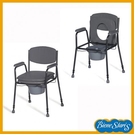 silla con inodoro para minusvalidos y dependientes