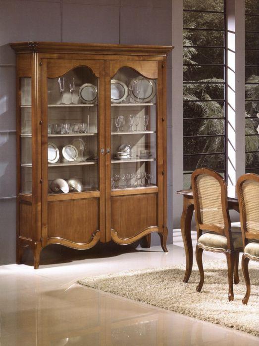 Vitrina con cajones interiores luis xv rustika - Rustika decoracion ...