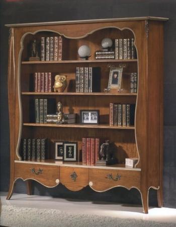 Libreria 3 caj cerezo rustika decoraci n madrid - Rustika decoracion ...