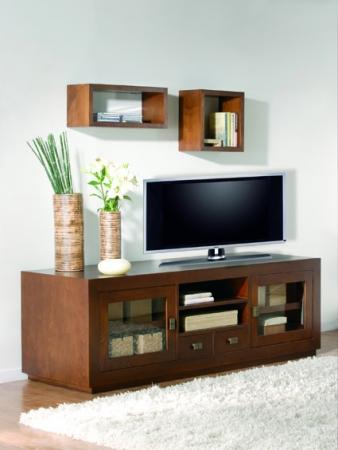 Mueble tv rustika decoraci n madrid - Muebles tv madrid ...