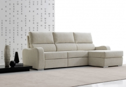 SOFA CHAISELONGUE CON SISTEMA RELAX