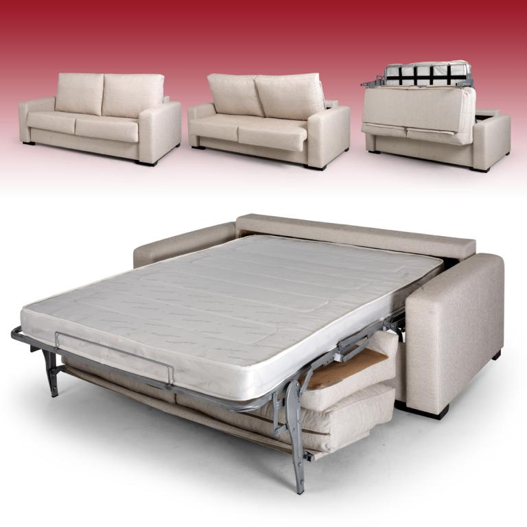 Sofa cama tres plazas sist italiano rustika decoraci n for Cama 120x190