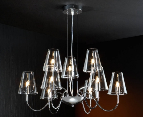 Lampara de techo tulipas cristal 9l nombre de la empresa - Tulipas de lamparas ...