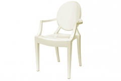 SILLON REPLICA LOU LOU GHOST BLANCO O NEGRO