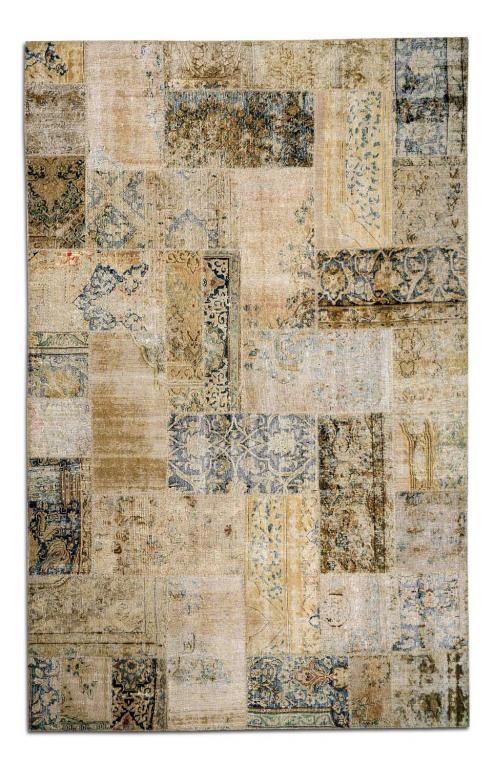 Alfombra persa patchwork rustika decoraci n madrid - Rustika decoracion ...