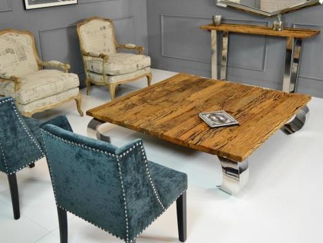Silla tapizada tachuelas rustika decoraci n madrid for Decoracion sillas tapizadas