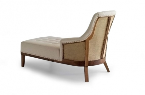 CHAISELONGUE CON TRASERA VISTA