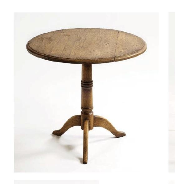 Mesa de comedor redonda plegable rustika decoraci n madrid - Mesa plegable para comedor ...