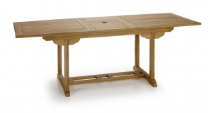 MESA DE COMEDOR RECTANGULAR EXTENSIBLE