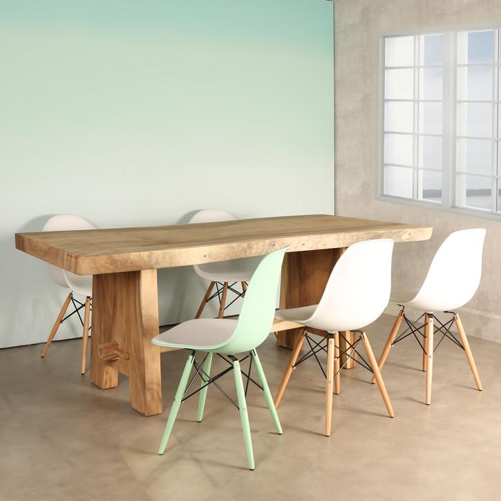 Mesa de comedor rectangular rustika decoraci n madrid - Rustika decoracion ...