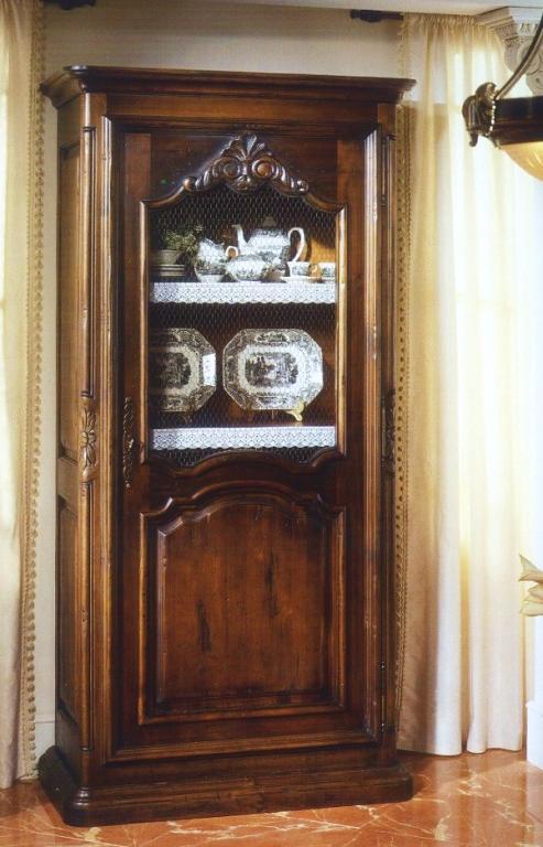Vitrina armario tela gallinero rustika decoraci n madrid - Rustika decoracion ...