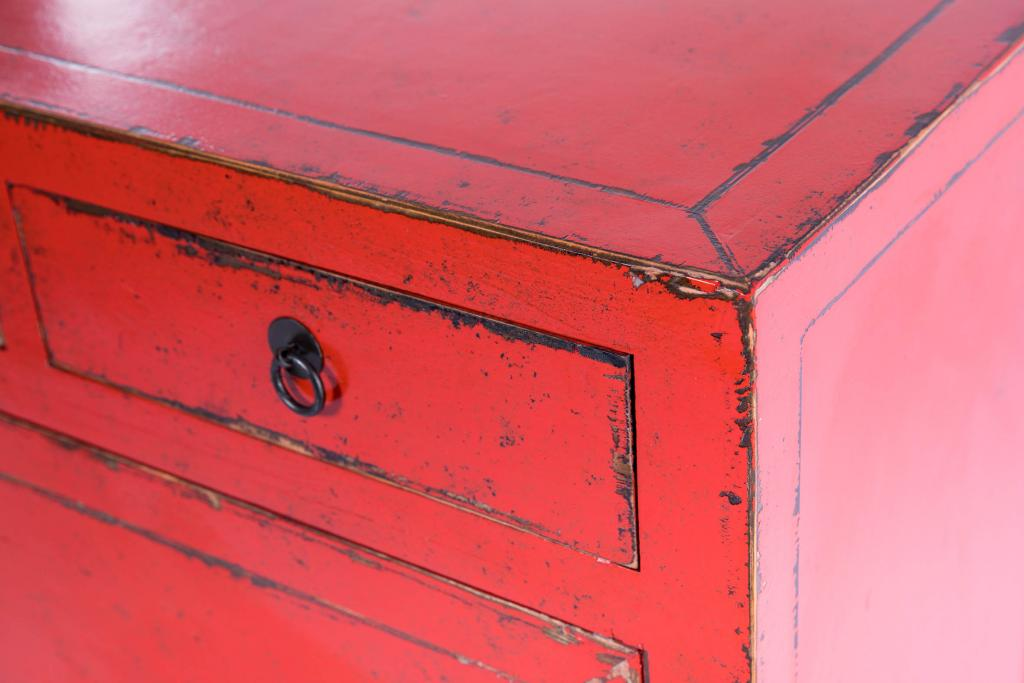 Aparador chino rojo rustika decoraci n madrid - Rustika decoracion ...