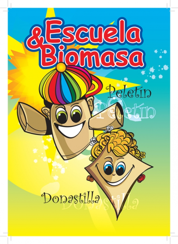 Manual didáctico sobre biomasa para escolares. AVEBIOM Energías renovables