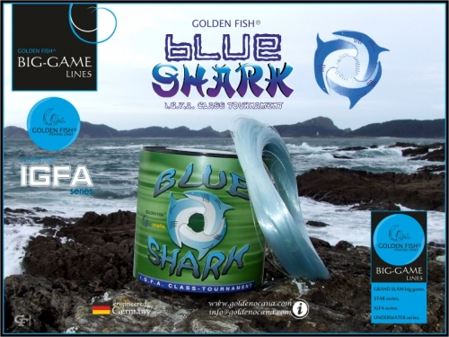 GOLDEN FISH®  BLUE SHARK