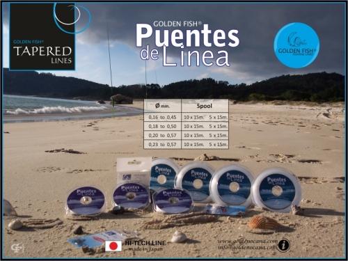 GOLDEN FISH®  PUENTES DE LINEA transparent.