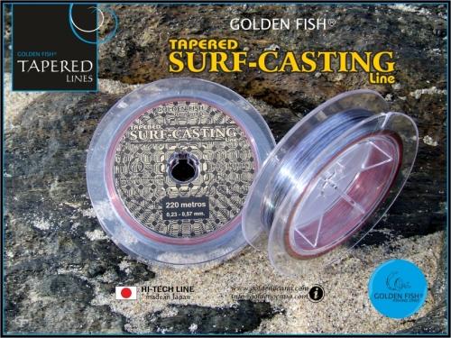 GOLDEN FISH®  TAPERED SURFCASTING line.