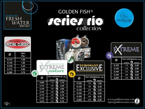 GOLDEN FISH®  SERIES RIO collection.