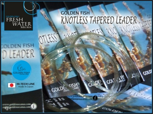 GOLDEN FISH®  KNOTLESS TAPERED LEADER