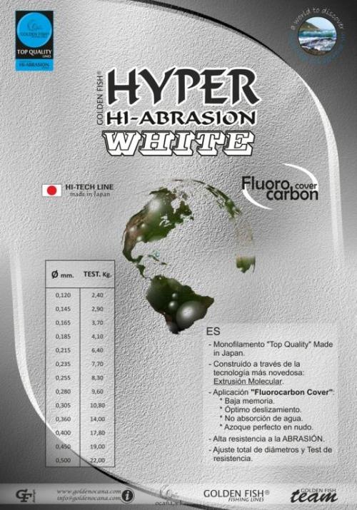 NOVEDAD: G.F. HYPER HI-ABRASION WHITE