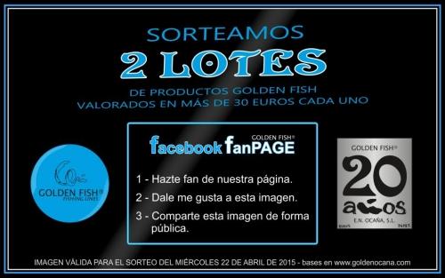 SORTEO 2 LOTES de productos GOLDEN FISH (22/04/2015)